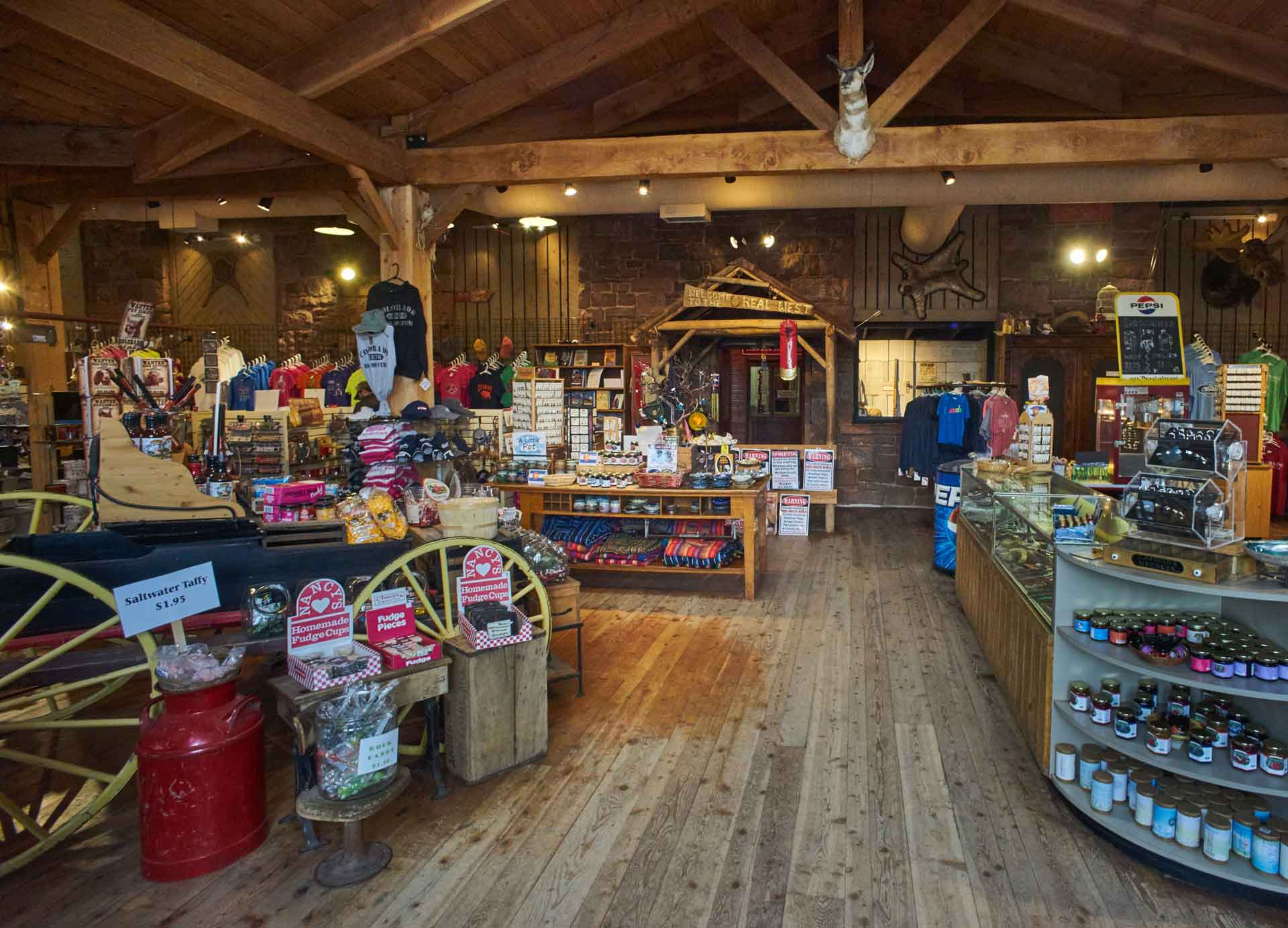 Ghost Town Museum Colorado Springs gift shop Colorado souvenirs things to to in Colorado Springs gold panning kid friendly