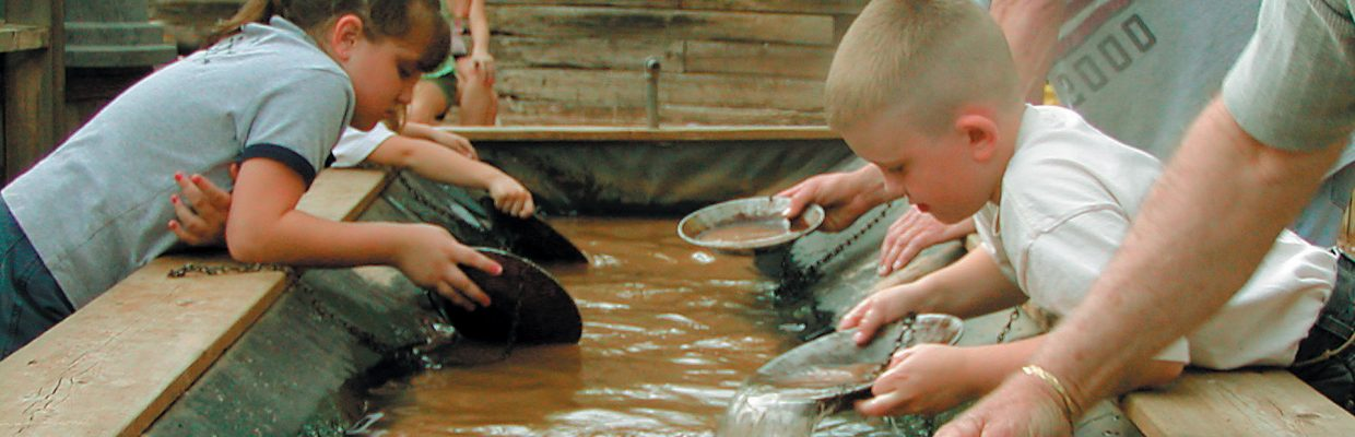 Ghost Town Museum Colorado Springs gold panning kid friendly Wild West things to do in Colorado Springs ghost town museum Ghost Town Museum Home kids panning 2002 1240x400